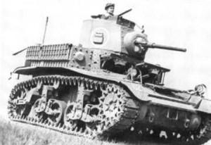 Light Tank M3/M5