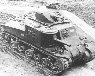 "Medium M3 Panzer ""Grant"""
