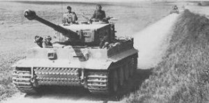 PzVI Ausf. E der  SSPzAbt101 in der Normandie 1944