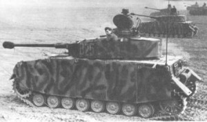 Panzer IV H - camo