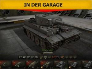 World of Tanks - Tiger in der Garage
